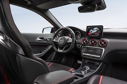 Inside the 2016 model year Mercedes A-class