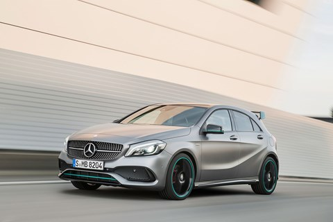 Mercedes Formula 1 inspired design introduces the all new motorsport edition