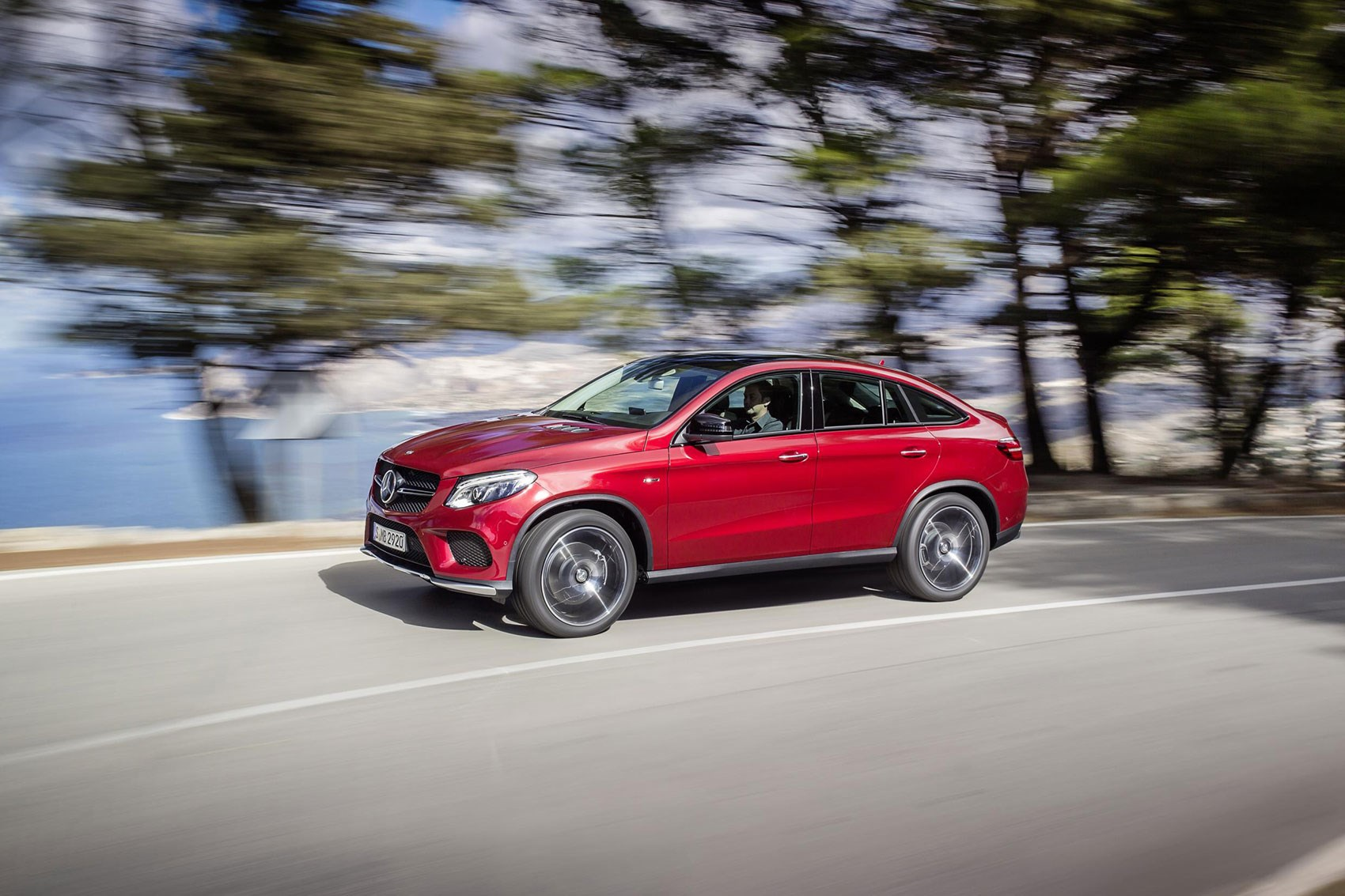 You want less boot space and less headroom? You'll be wanting the GLE Coupe!