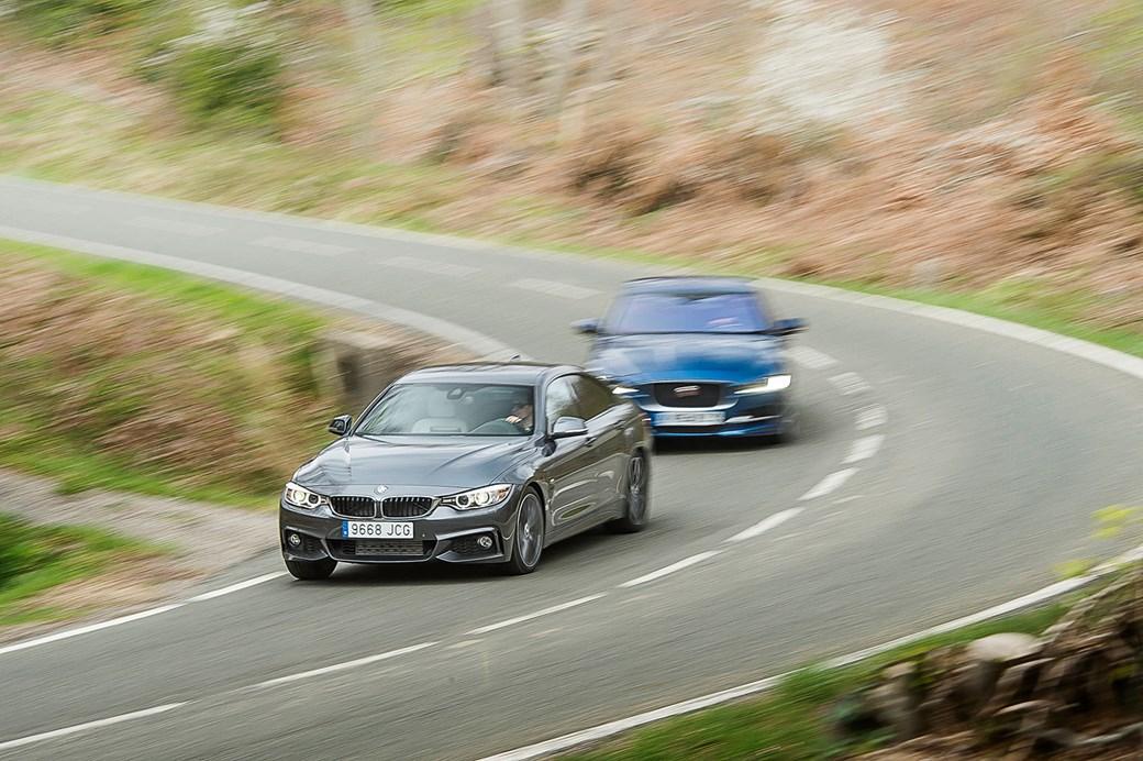 Jaguar XE vs BMW 4series vs Mercedes Cclass triple test review