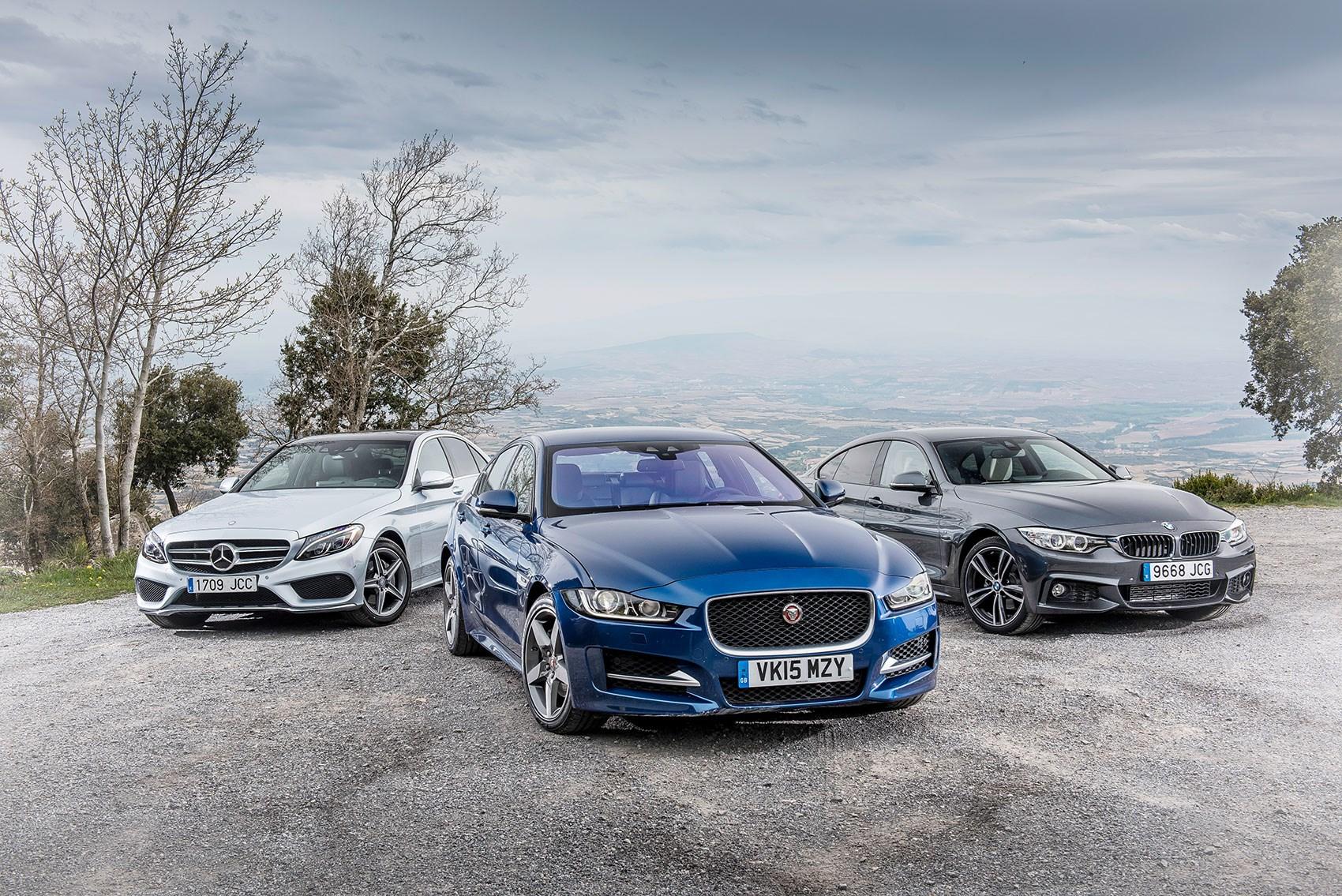 Jaguar Xe Vs Bmw 4 Series Vs Mercedes C Class Triple Test Review