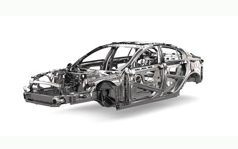 Key tech: Jaguar XE aluminium chassis