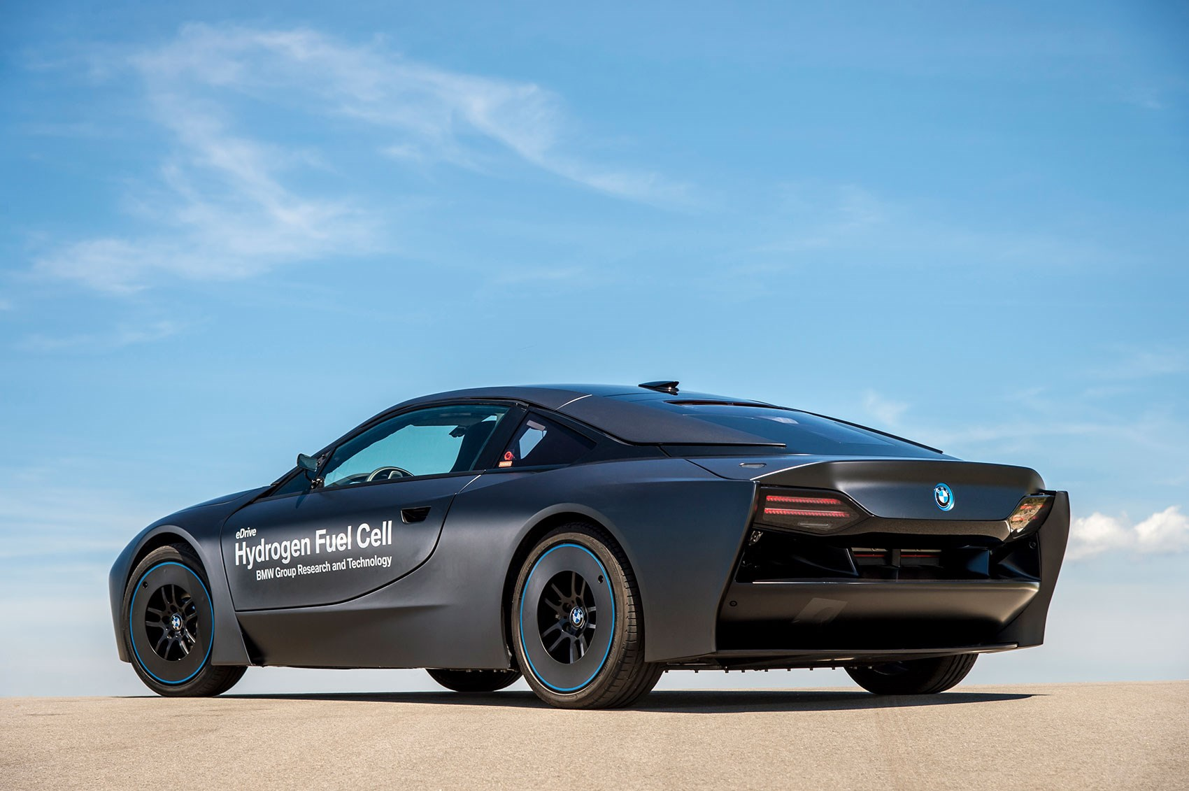 Test Drive Bmw Hydrogen Car