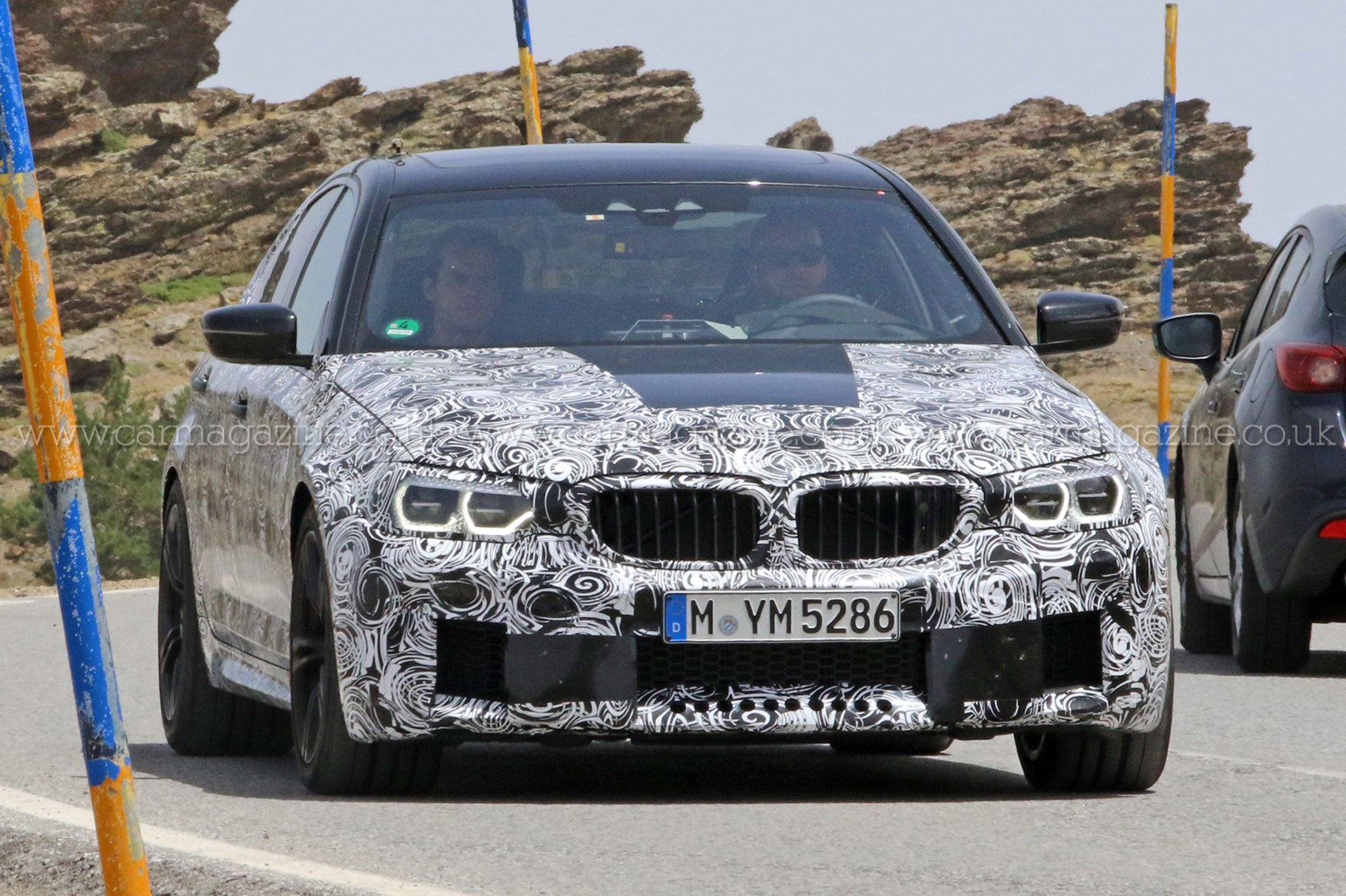 new 2017 bmw m5 spotted meet the new g30 hot rod by car