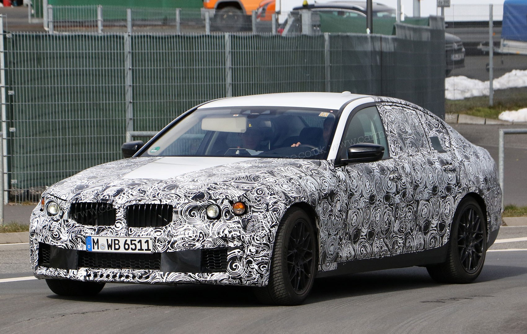 New 2017 BMW M5 spotted: meet the new G30 hot-rod | CAR Magazine