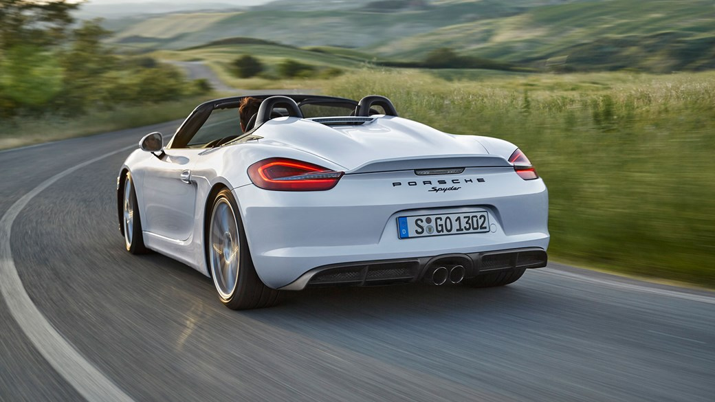 Porsche Boxster Spyder 2015 Review Car Magazine