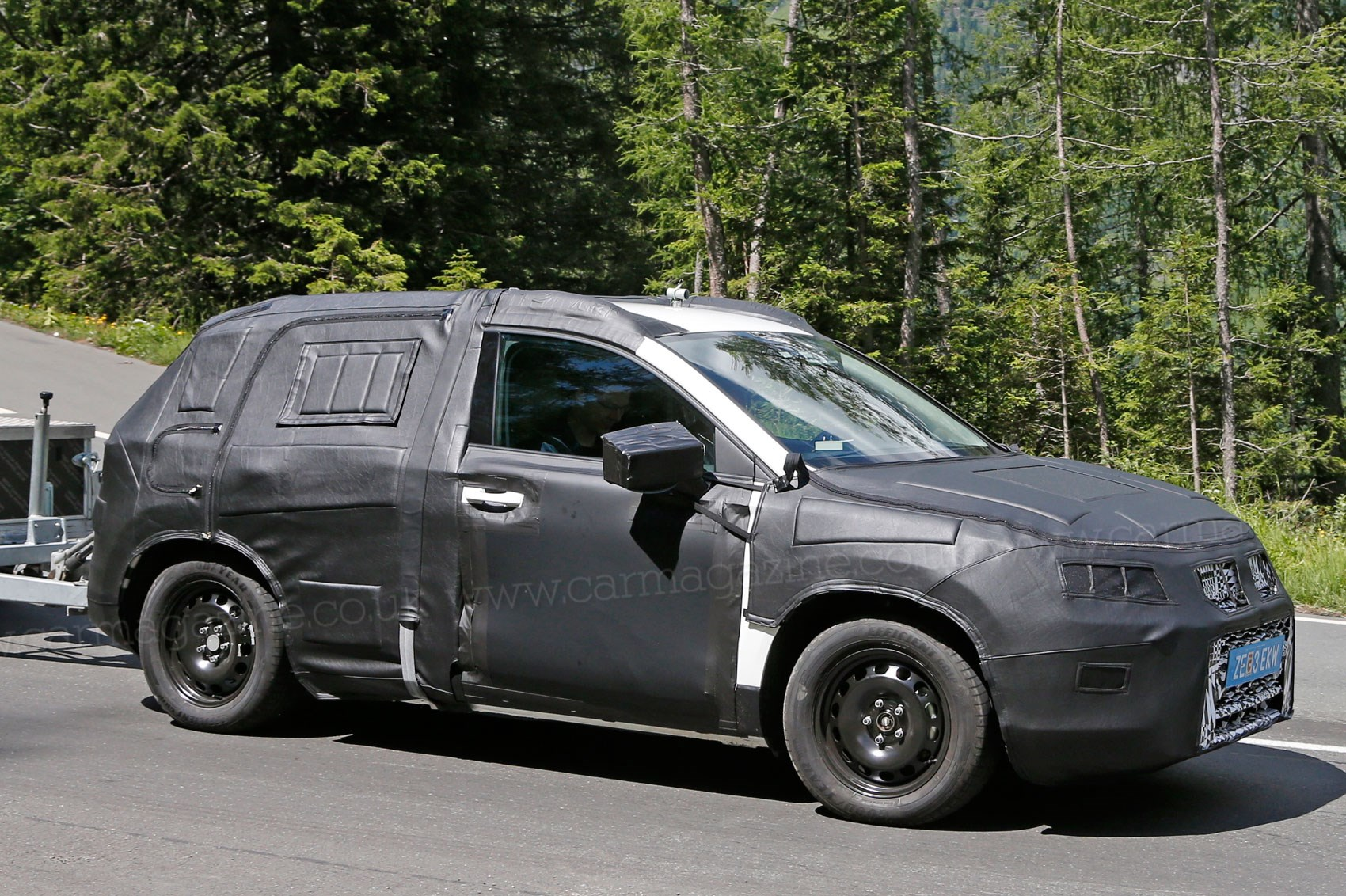 Seat Suv Goes On The Pull By Car Magazine