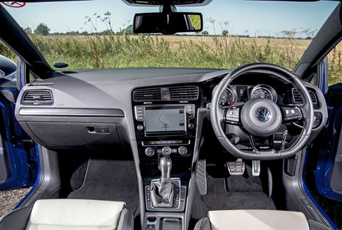 VW Golf R cabin