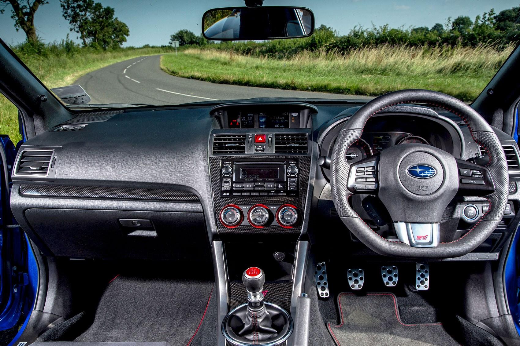 VW Golf R vs Subaru Impreza WRX STi twin test review (2015