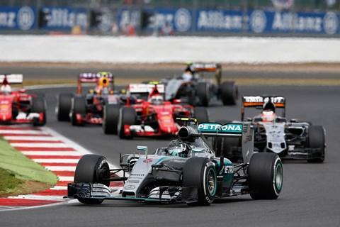 Nico Rosberg at Silverstone 2015