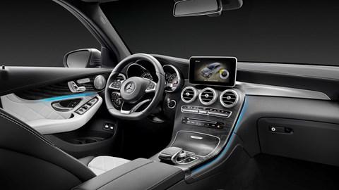 Mercedes GLC cabin