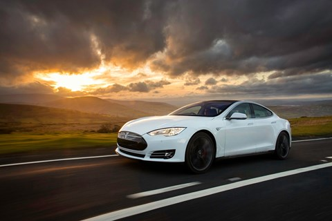 The 2015 Model S received awd