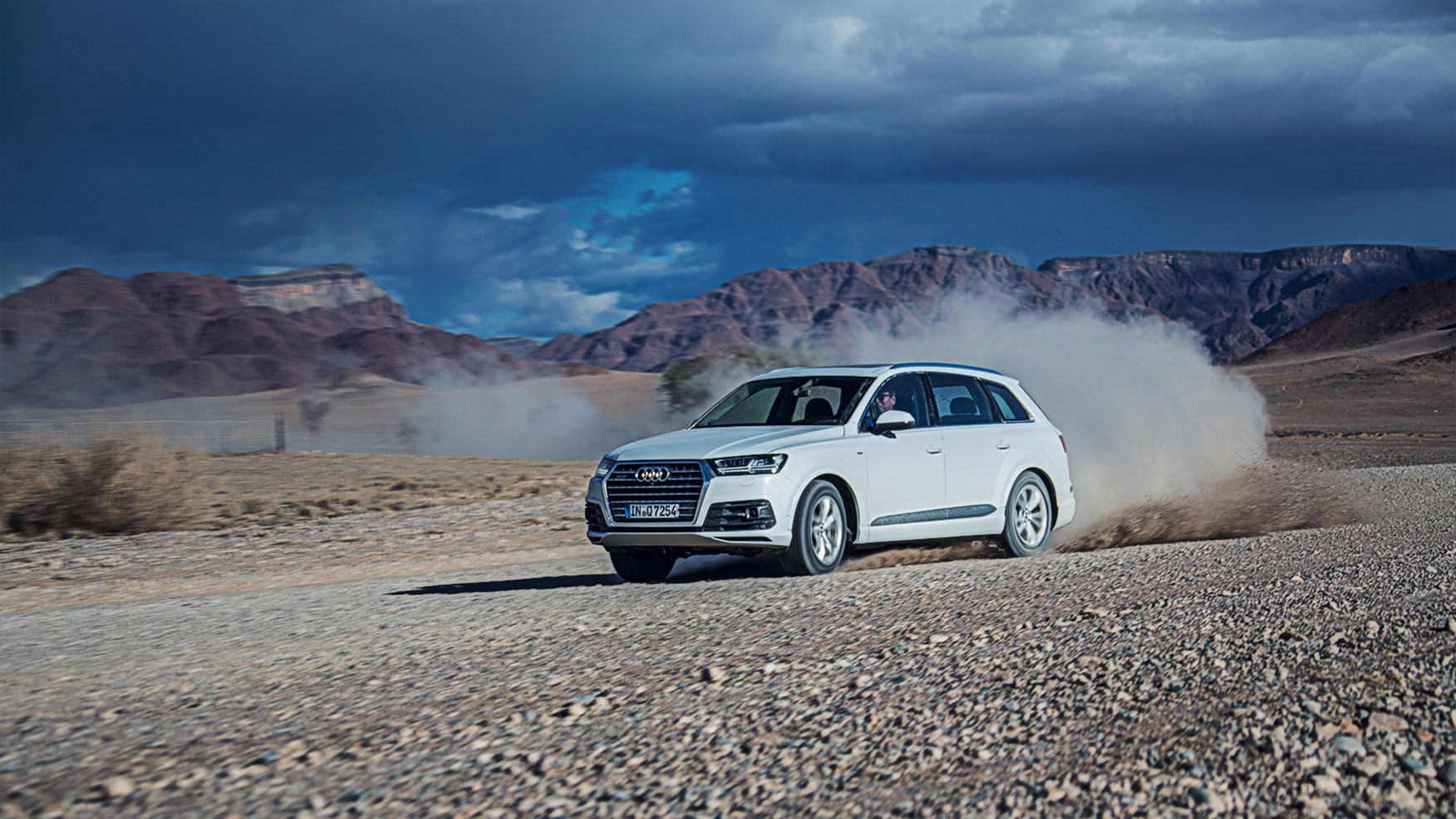 Audi Q7 3 0 TDI 2015 prototype review in Namibia by CAR