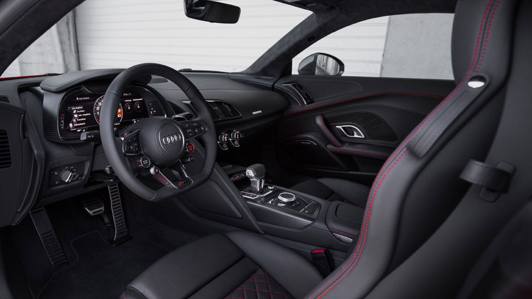 audi r8 2015 interior. 2015 audi r8 interior is more interesting on the driveru0027s side than passengeru0027s most major functions can be controlled from steering wheel