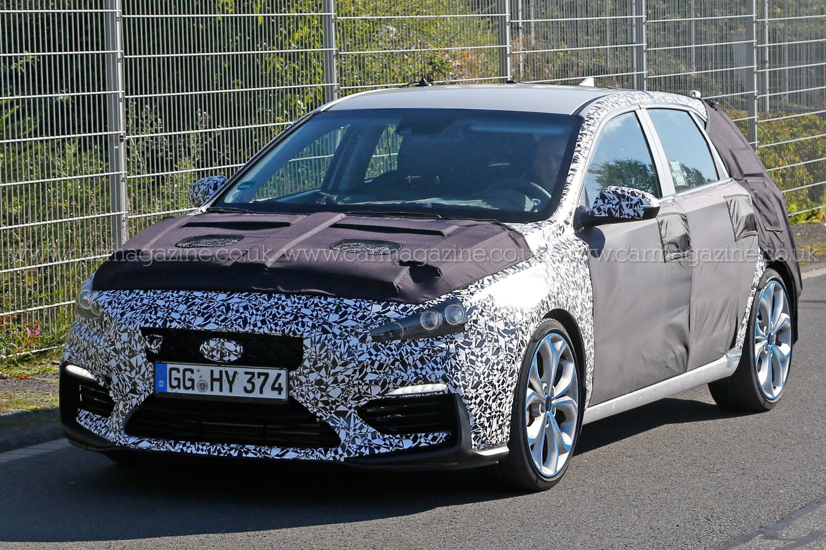 hyundai i30 n series 2017 spy shots a hotter kind of hyundai by car magazine. Black Bedroom Furniture Sets. Home Design Ideas