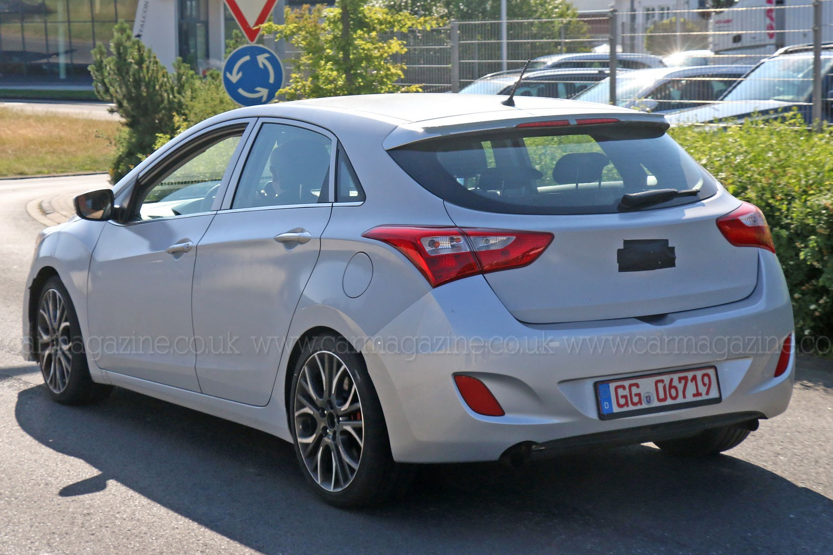 hyundai i30 n series 2017 first sighting a hotter kind of hyundai by car magazine. Black Bedroom Furniture Sets. Home Design Ideas