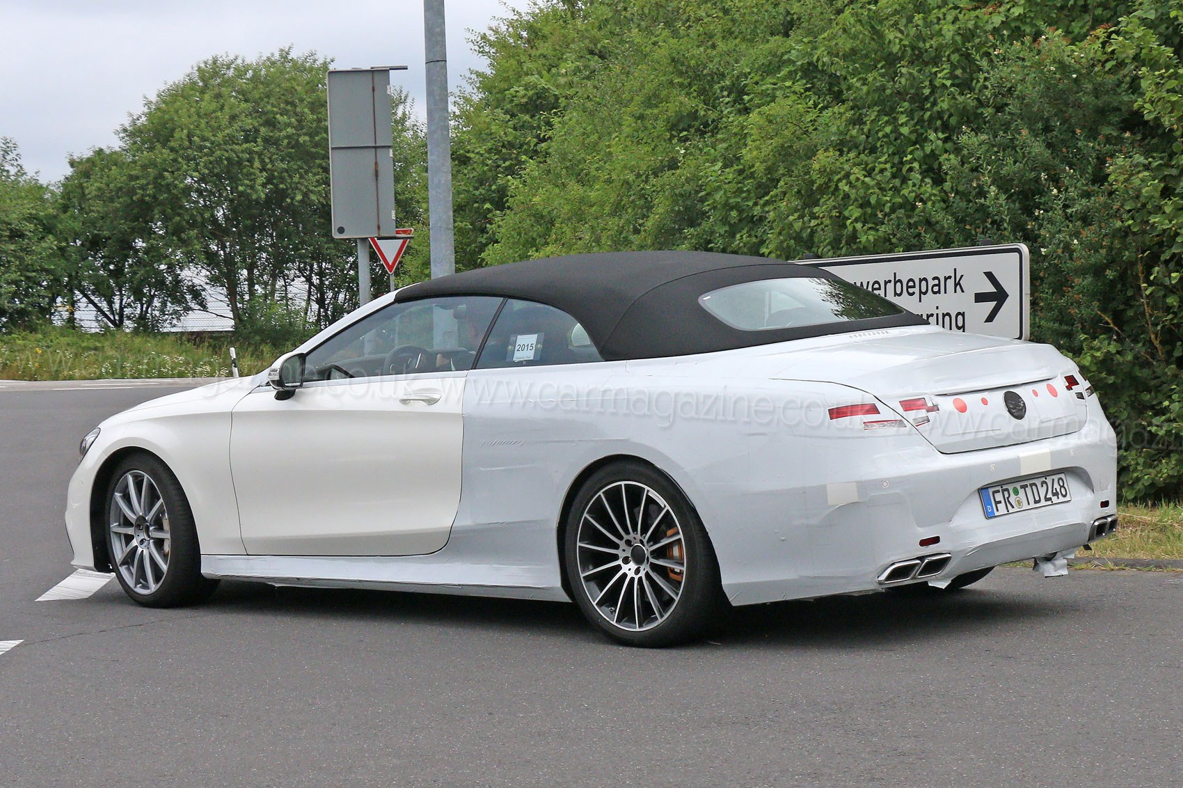 Mercedes S63 Amg Convertible Lidless Limo Gets A Go