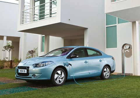 Renault Fluence tops the list