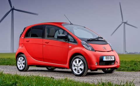 The Citroen C Zero. Another electric vehicle to depreciate quickly