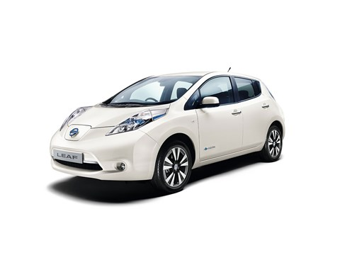 The base Nissan Leaf is second electric vehicle to feature in the top 10