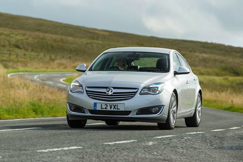 The motorway mileage mounter is no surprise to the list. This is the Vauxhall Insignia