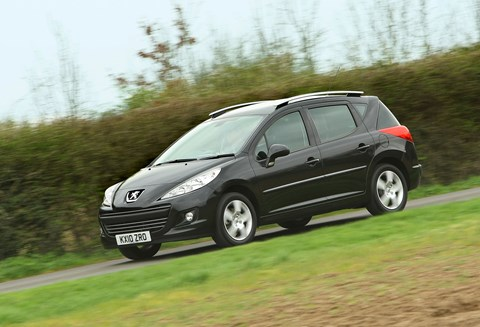 A small engine, and bad looks probably helped depreciate the Peugeot 207 SW