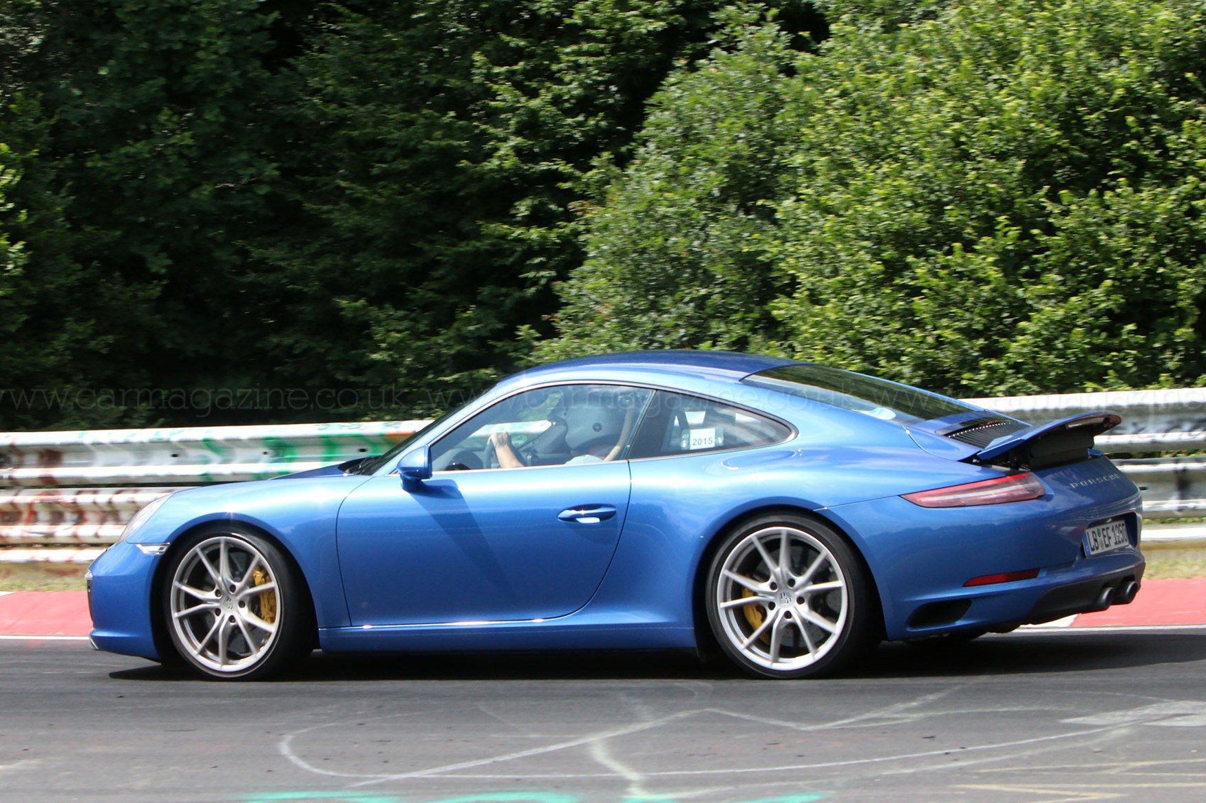 Facelifted 2016 Porsche 911 Revealed The 991 2 Spotted