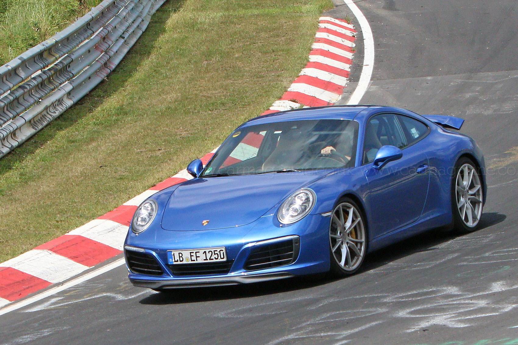 Facelifted 2016 Porsche 911 Revealed: The 991.2 Spotted
