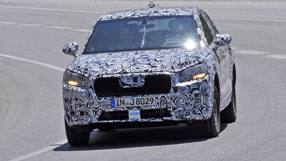First Spyshots Of The Audi Q CAR Magazine - Audi q1