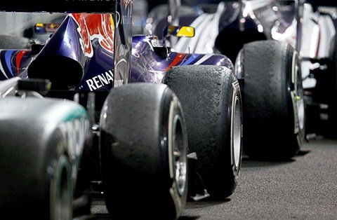 Wider cars and tyres coming to F1