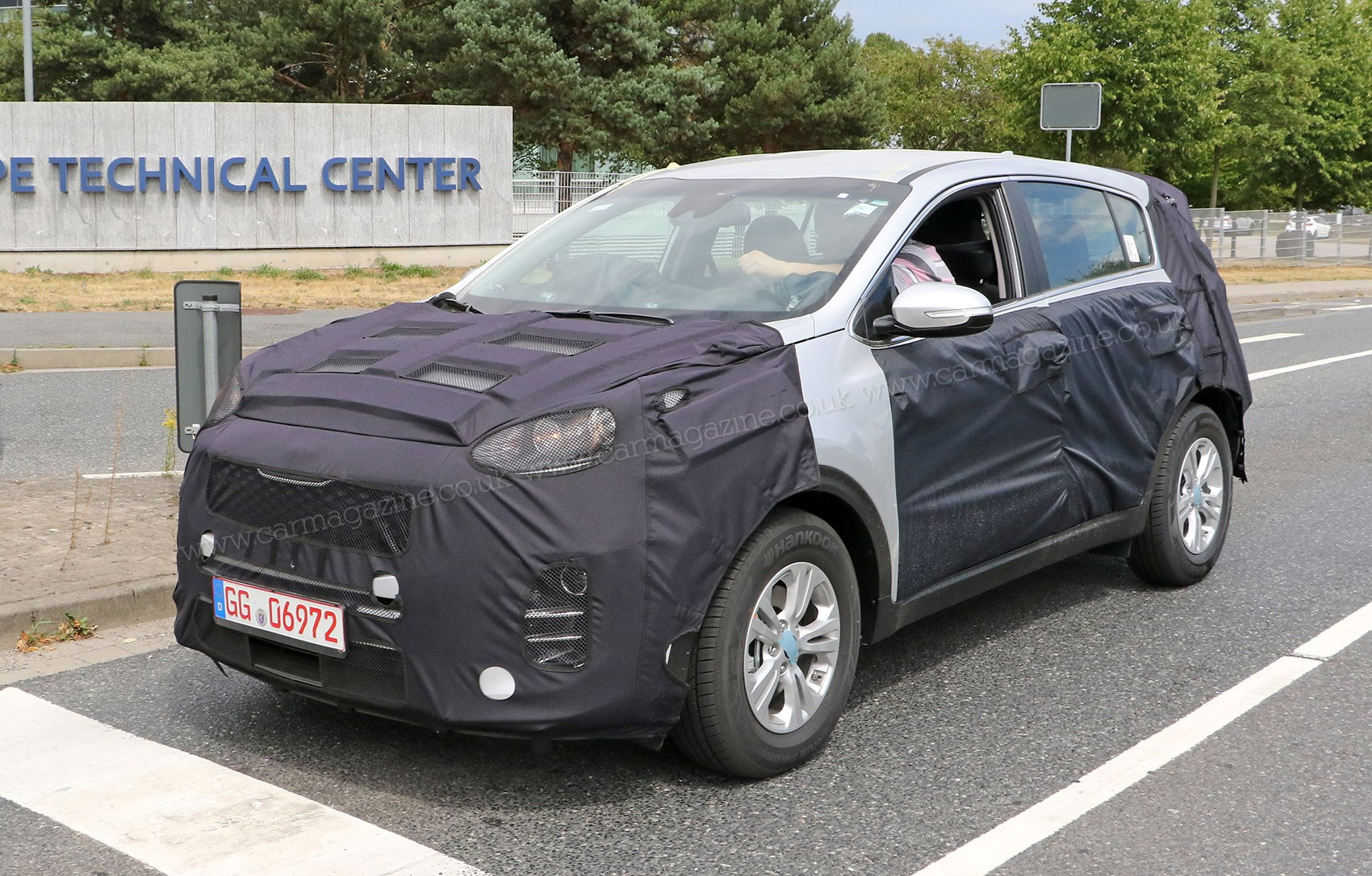 kia sportage steps out ahead of 2015 frankfurt motor show by car magazine. Black Bedroom Furniture Sets. Home Design Ideas