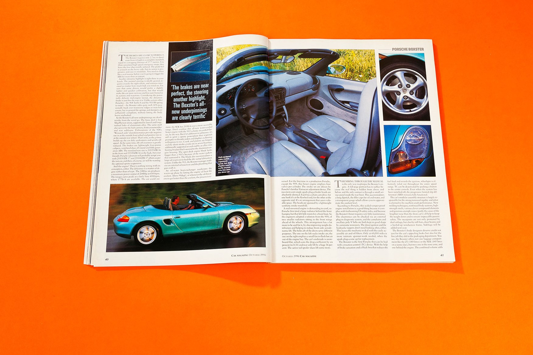 Seconds Out When We First Drove The Porsche Boxster Car Magazine October 1996 By Car Magazine