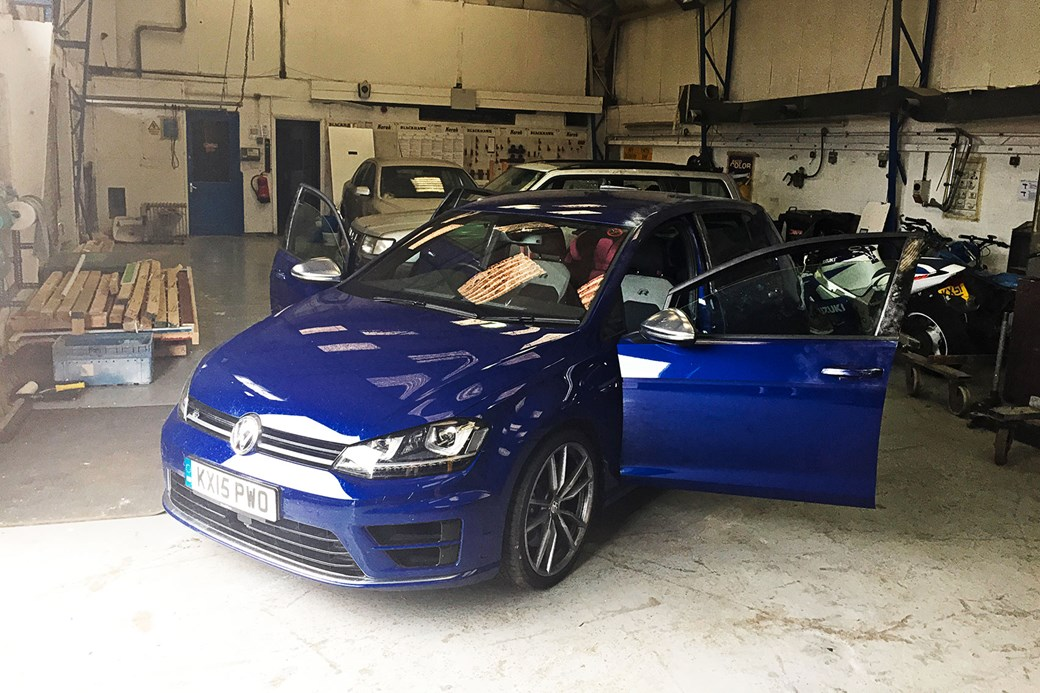Seven things you need to know about the facelifted 2017 vw golf in the police compound after being recovered our vw golf r looking sorry for itself publicscrutiny Choice Image