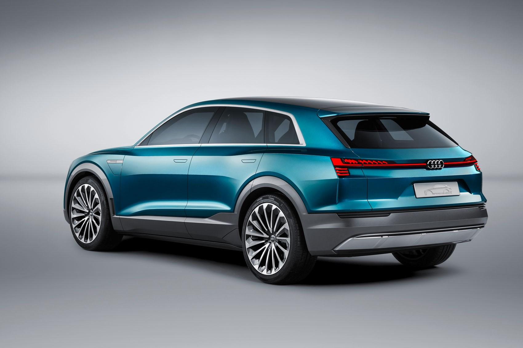Audi E Tron Quattro Concept
