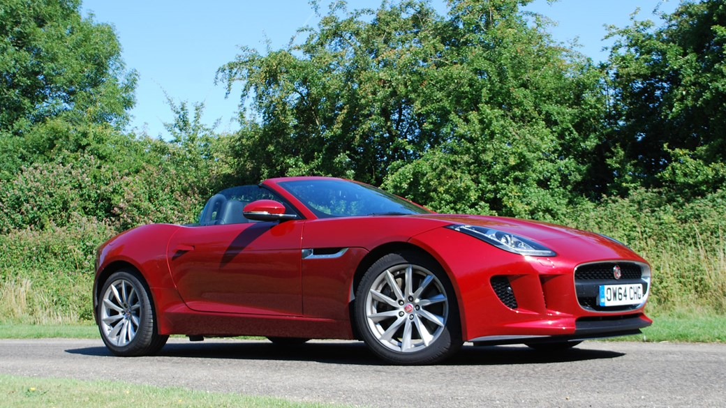 Lovely We Test The Cheapest Jaguar F Type On Sale