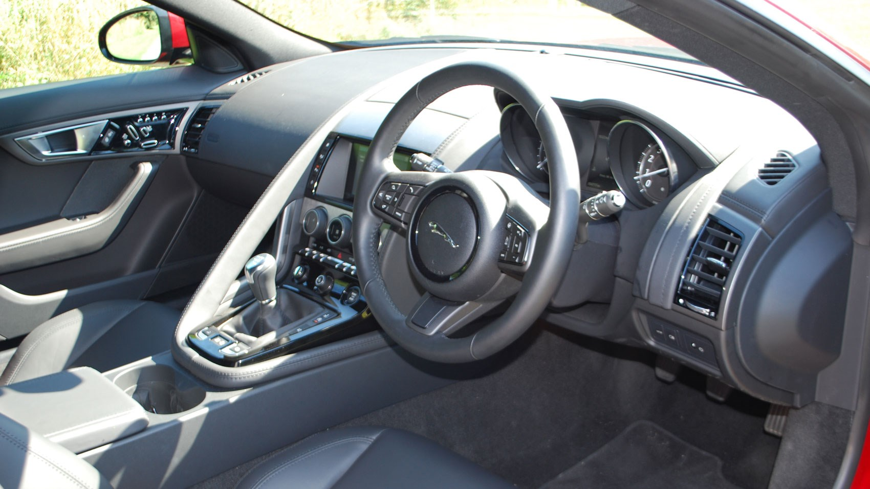 Jaguar F Type 30 V6 Manual 2015 Review Car Magazine 4 0 V8 Engine Diagrams Cabin Of A Stick Shift
