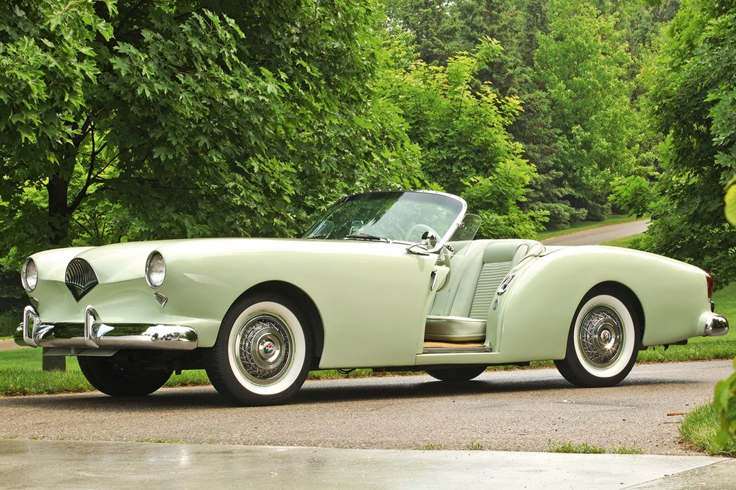 Fibregl American Sports Car Beat The Corvette To Market By A Year And Featured Pair Of Doors That Slid Elegantly Into Front Wings Instead
