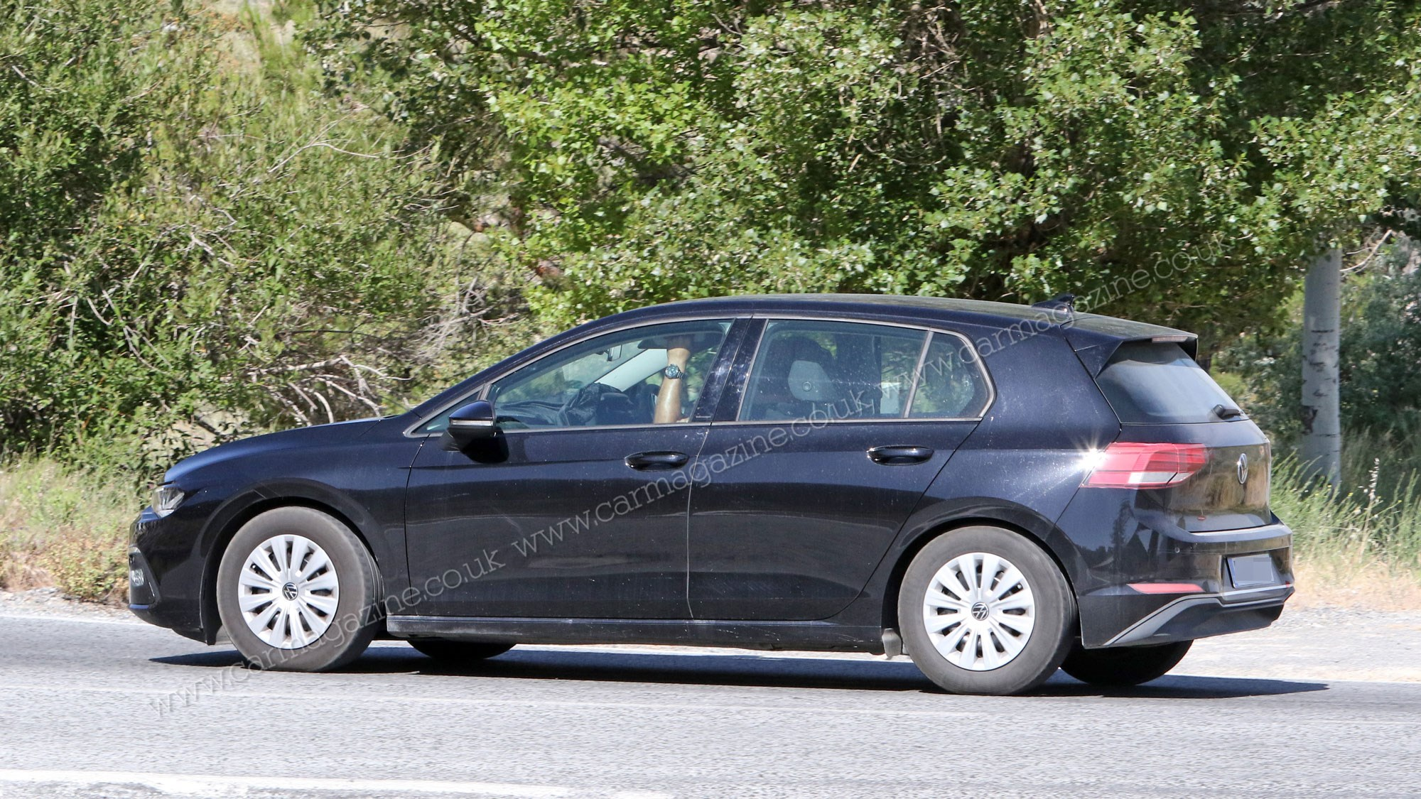 Vw Golf 2020 Leaked This Is The All 2019 09 10