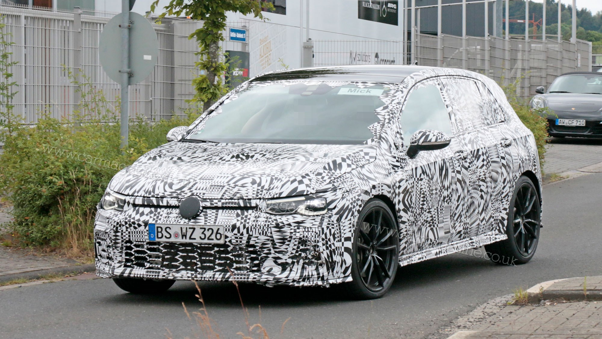 New Vw Golf Mk8 Fresh Pictures Of Gti Testing Car Magazine