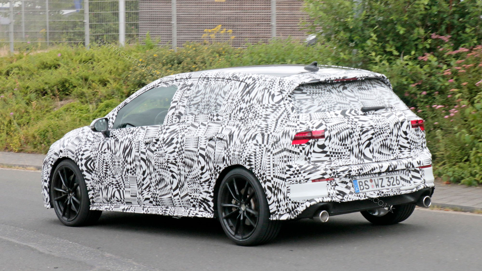 New VW Golf Mk8: fresh pictures of GTI testing | CAR Magazine