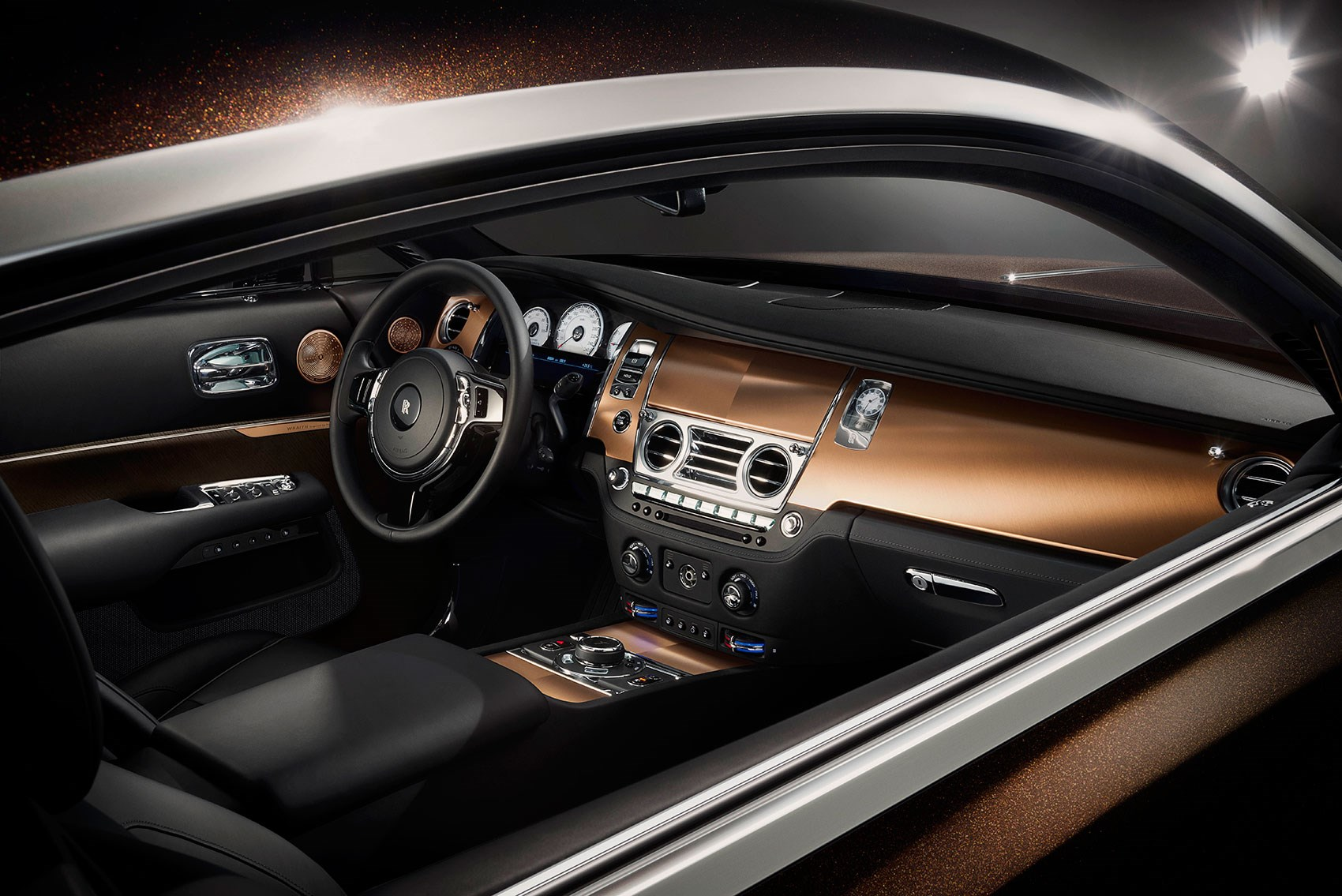 The Hi Fi Interior Of The Rolls Royce Wraith Inspired By Music