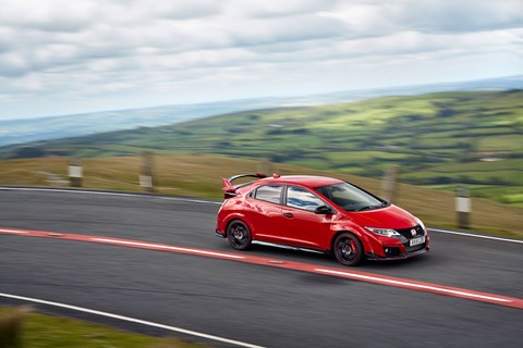 Honda Civic Type R, photographed for CAR by Greg Pajo