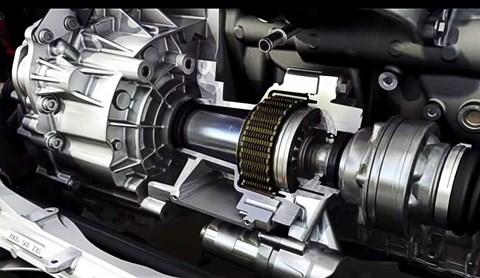 Front axle diff lock on VW Golf GTI