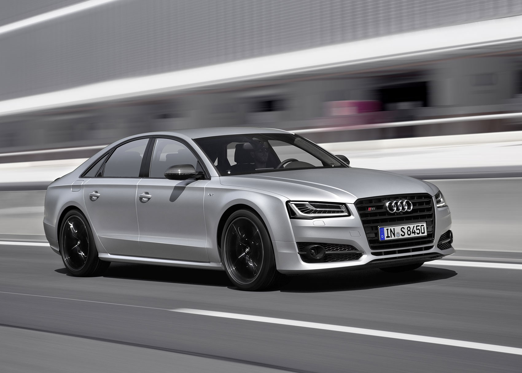 a farewell to arms audi s8 gets the plus treatment car magazine. Black Bedroom Furniture Sets. Home Design Ideas