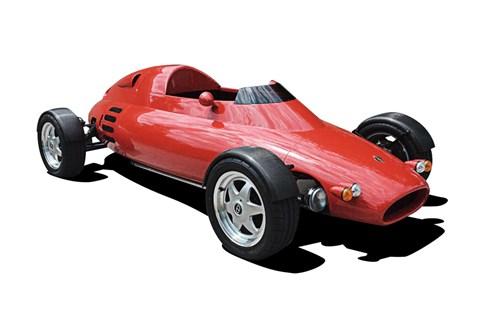 The Light Car Company Rocket, the world's lightest road car