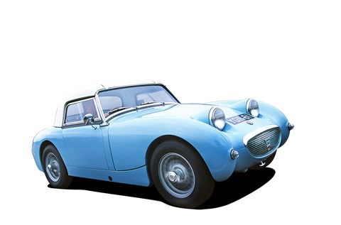 The Frogeye Sprite complete's Murray's 5 British-made cars to drive