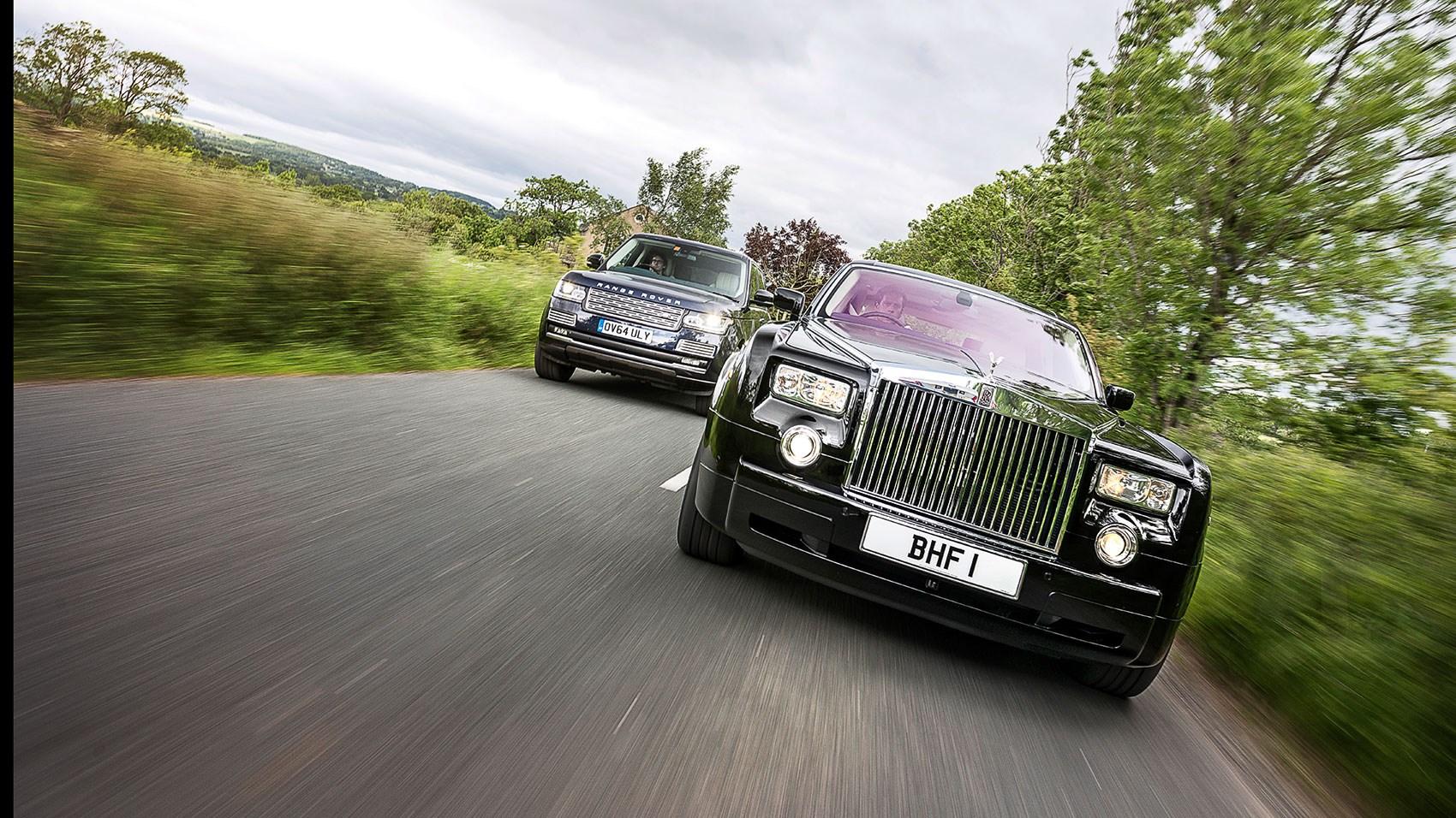 icon buyer new range rover vs used rolls royce phantom car september 2015 car magazine. Black Bedroom Furniture Sets. Home Design Ideas