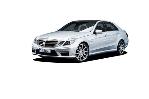 Mercedes E63 AMG strapped with the famous 6.3-litre AMG engine