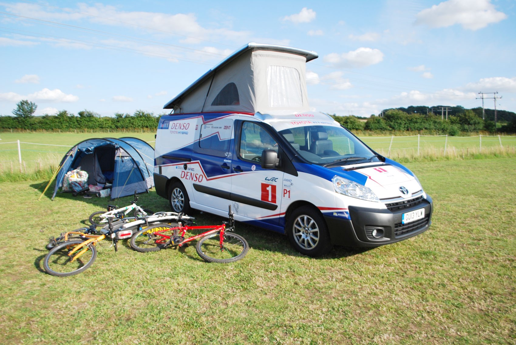Chevrolet Lease Deals >> Toyota Proace PRO40 camper in LMP1 livery (2015) review ...