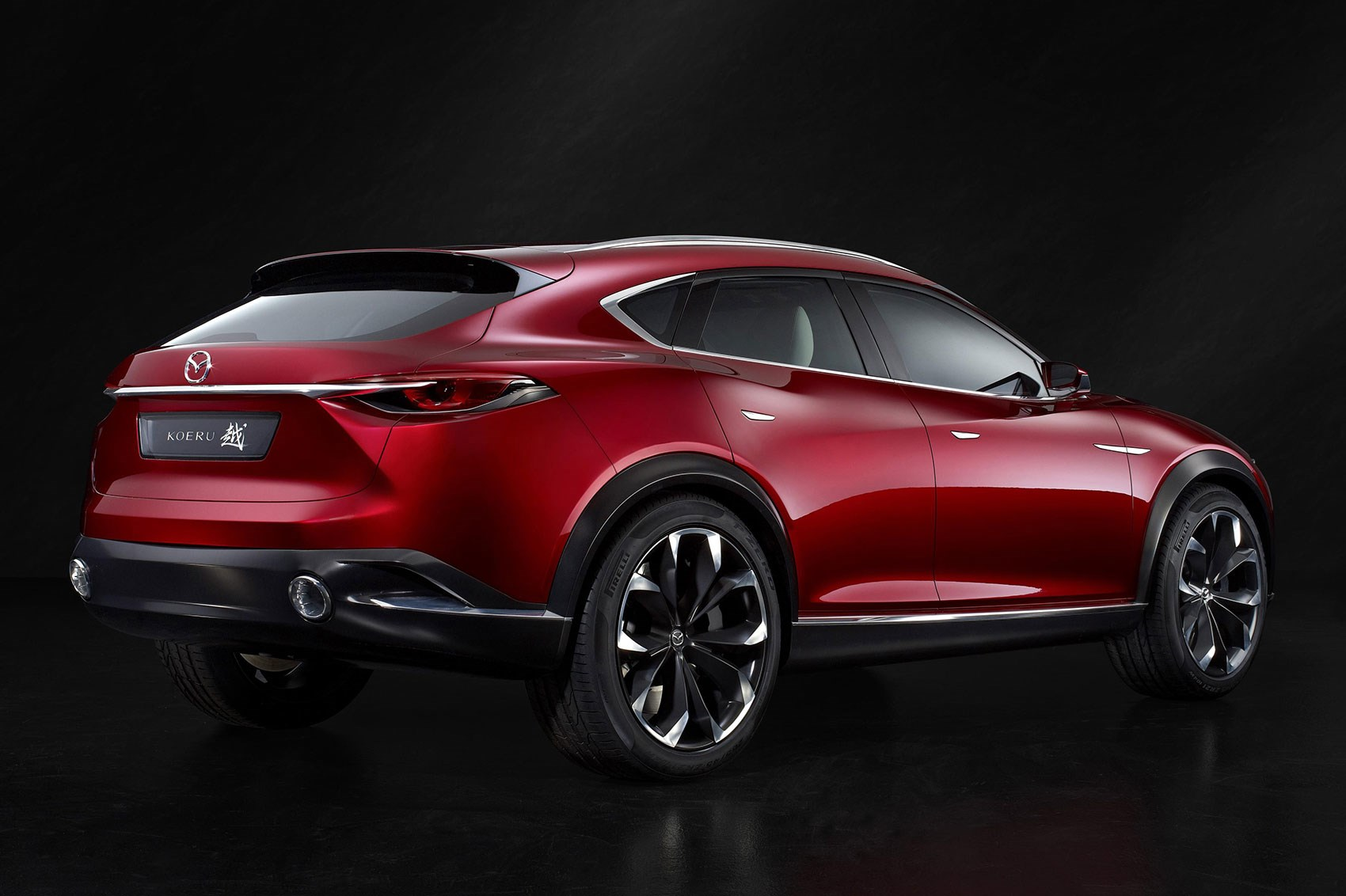 Huge 21in Wheels Look Like They Take Up Half The Height Of Koeru Concept Shows Mazda